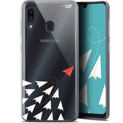 "Coque Gel Samsung Galaxy A30 (6.4"") Extra Fine Motif -  Papier Volant"