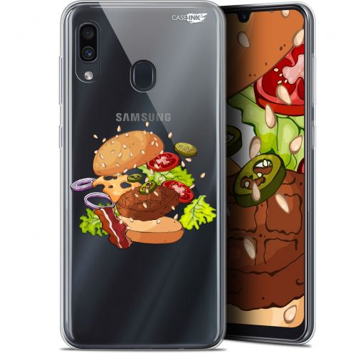 "Coque Gel Samsung Galaxy A30 (6.4"") Extra Fine Motif - Splash Burger"
