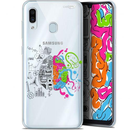 "Coque Gel Samsung Galaxy A30 (6.4"") Extra Fine Motif -  Le Cerveau"