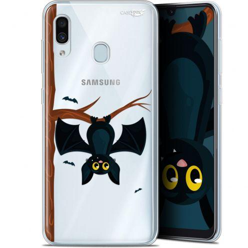 """Coque Gel Samsung Galaxy A30 (6.4"""") Extra Fine Motif -  Petite Chauve Souris"""