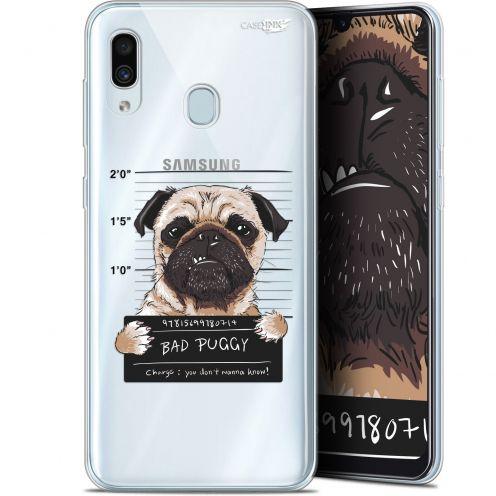 "Coque Gel Samsung Galaxy A30 (6.4"") Extra Fine Motif - Beware The Puggy Dog"