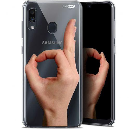 "Coque Gel Samsung Galaxy A30 (6.4"") Extra Fine Motif - Le Jeu du Rond"