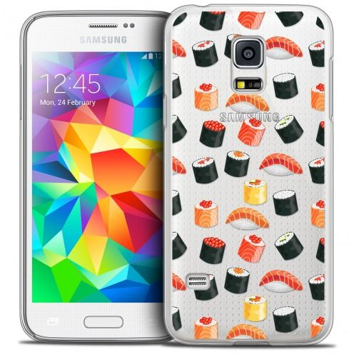 Coque Crystal Galaxy S5 Mini Extra Fine Foodie - Sushi