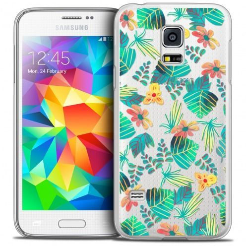 Coque Crystal Galaxy S5 Mini Extra Fine Spring - Tropical