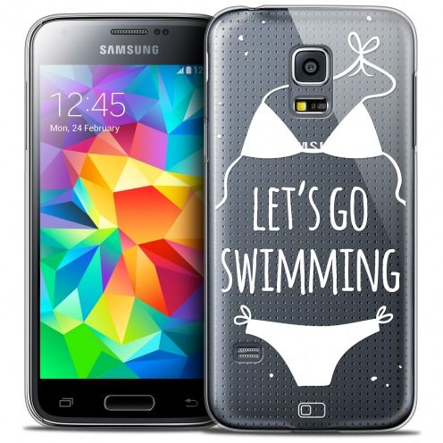 Coque Crystal Galaxy S5 Mini Extra Fine Summer - Let's Go Swim