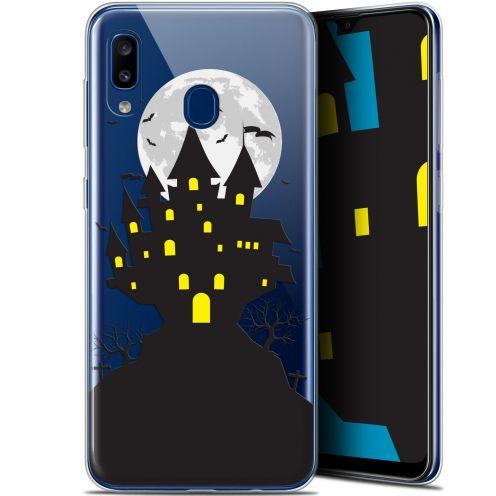 "Coque Gel Samsung Galaxy A20 (6.4"") Extra Fine Halloween - Castle Scream"