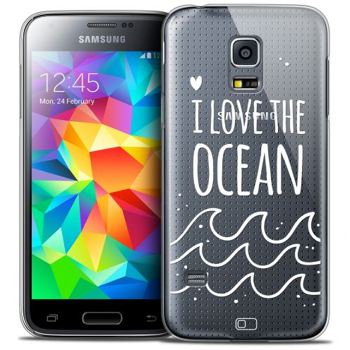 Coque Crystal Galaxy S5 Mini Extra Fine Summer - I Love Ocean