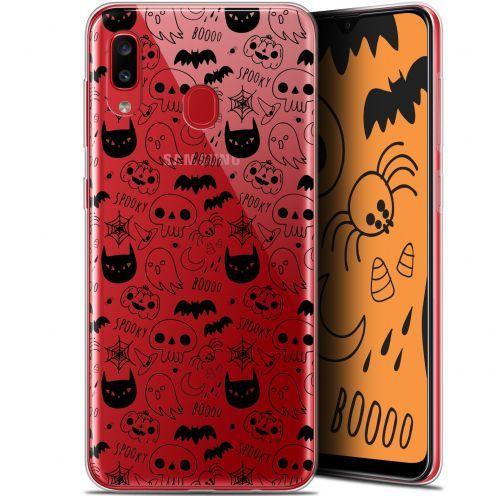 "Coque Gel Samsung Galaxy A20 (6.4"") Extra Fine Halloween - Spooky"