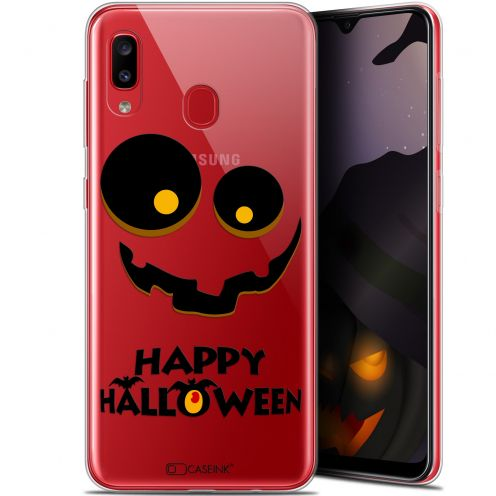 "Coque Gel Samsung Galaxy A20 (6.4"") Extra Fine Halloween - Happy"
