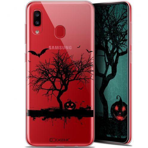 "Coque Gel Samsung Galaxy A20 (6.4"") Extra Fine Halloween - Devil's Tree"