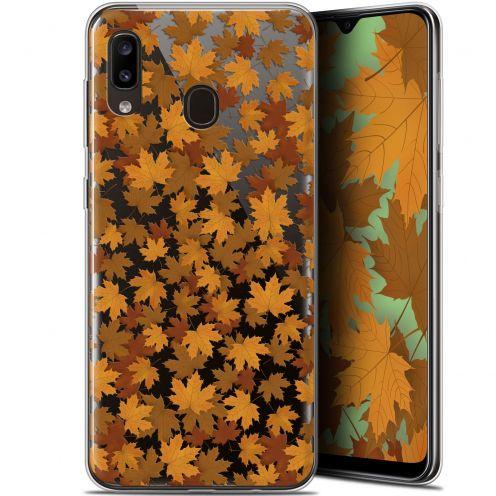 "Coque Gel Samsung Galaxy A20 (6.4"") Extra Fine Autumn 16 - Feuilles"