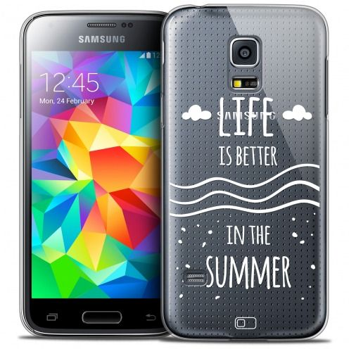 Coque Crystal Galaxy S5 Mini Extra Fine Summer - Life's Better
