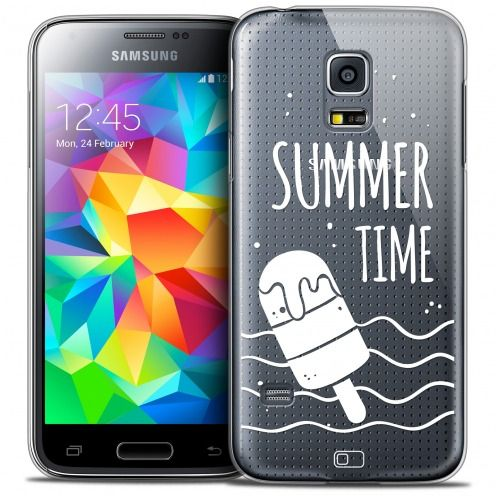 Coque Crystal Galaxy S5 Mini Extra Fine Summer - Summer Time