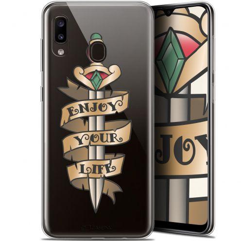 "Coque Gel Samsung Galaxy A20 (6.4"") Extra Fine Tatoo Lover - Enjoy Life"