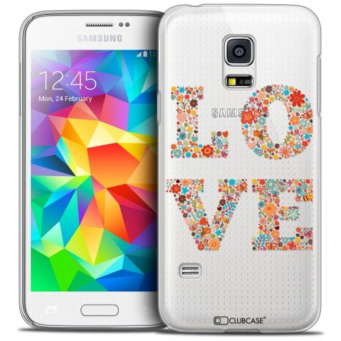 Coque Crystal Galaxy S5 Mini Extra Fine Summer - Love Flowers
