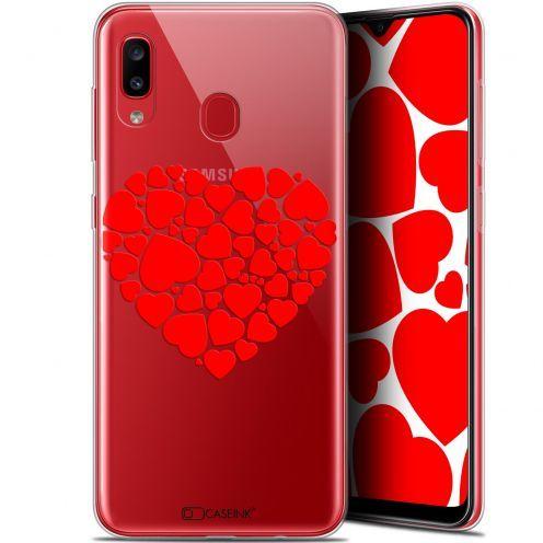 """Coque Gel Samsung Galaxy A20 (6.4"""") Extra Fine Love - Coeur des Coeurs"""