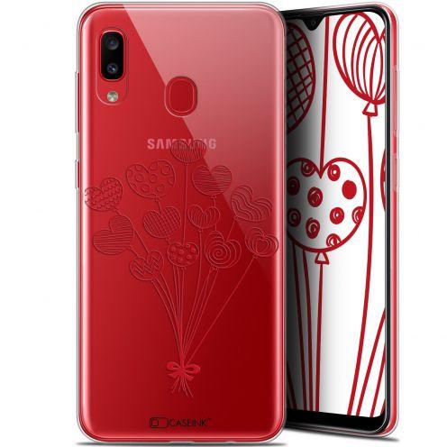 "Coque Gel Samsung Galaxy A20 (6.4"") Extra Fine Love - Ballons d'amour"