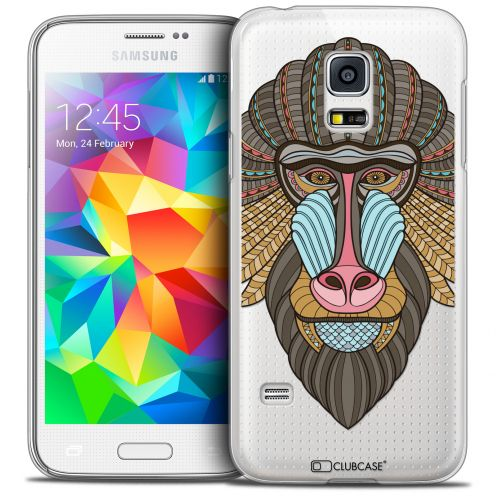 Coque Crystal Galaxy S5 Mini Extra Fine Summer - Babouin