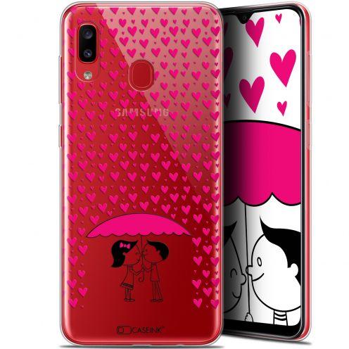 "Coque Gel Samsung Galaxy A20 (6.4"") Extra Fine Love - Pluie d'Amour"