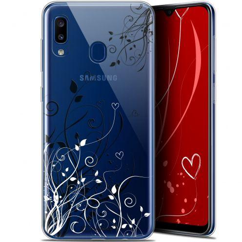"Coque Gel Samsung Galaxy A20 (6.4"") Extra Fine Love - Hearts Flowers"