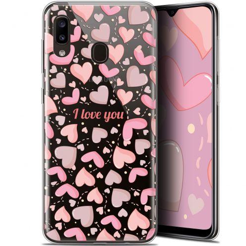 "Coque Gel Samsung Galaxy A20 (6.4"") Extra Fine Love - I Love You"