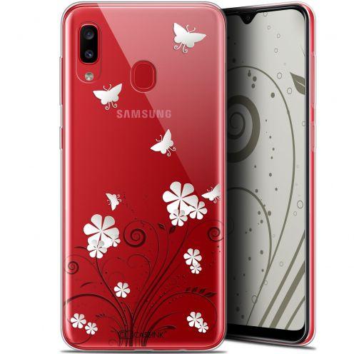 "Coque Gel Samsung Galaxy A20 (6.4"") Extra Fine Summer - Papillons"