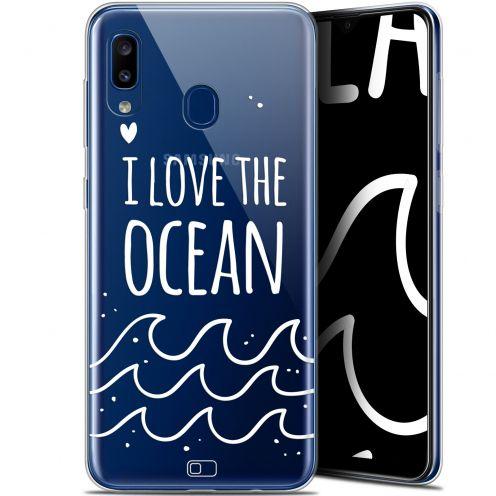 "Coque Gel Samsung Galaxy A20 (6.4"") Extra Fine Summer - I Love Ocean"