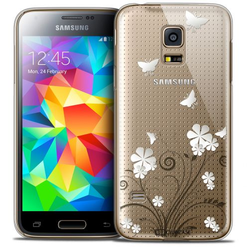 Coque Crystal Galaxy S5 Mini Extra Fine Summer - Papillons