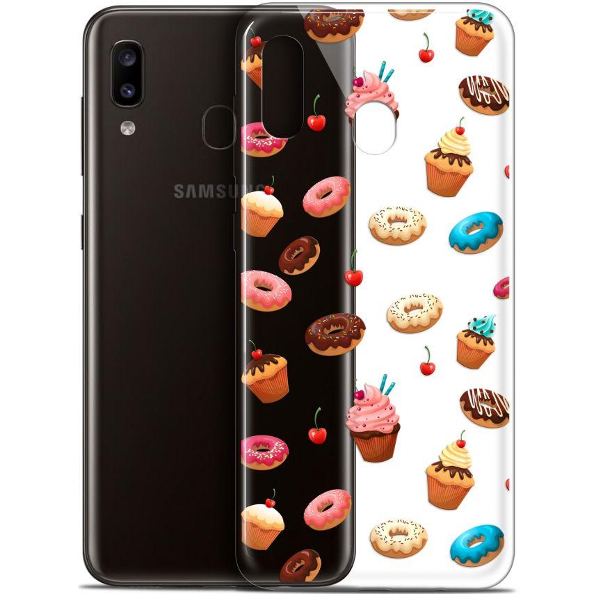 "Coque Gel Samsung Galaxy A20 (6.4"") Extra Fine Foodie - Donuts"