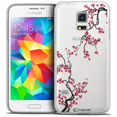 Coque Crystal Galaxy S5 Mini Extra Fine Summer - Sakura