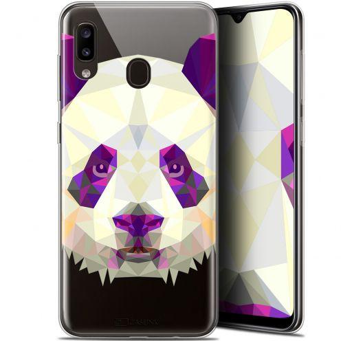 "Coque Gel Samsung Galaxy A20 (6.4"") Extra Fine Polygon Animals - Panda"