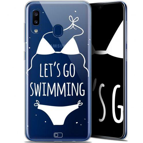 "Coque Gel Samsung Galaxy A20 (6.4"") Extra Fine Summer - Let's Go Swim"
