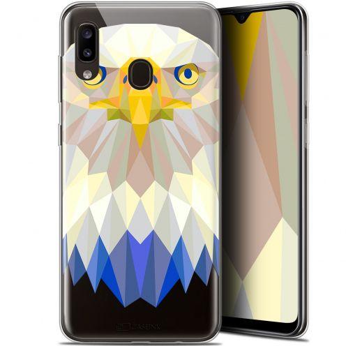 "Coque Gel Samsung Galaxy A20 (6.4"") Extra Fine Polygon Animals - Aigle"