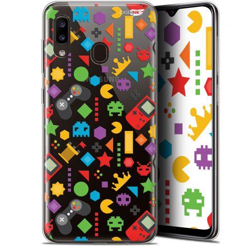 """Coque Gel Samsung Galaxy A20 (6.4"""") Extra Fine Motif - PacMan"""