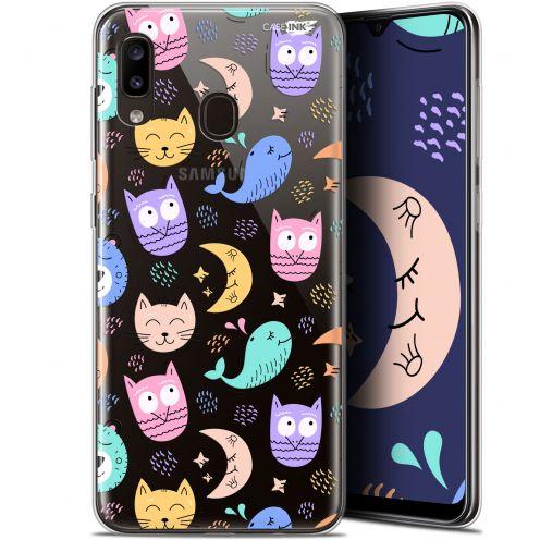 """Coque Gel Samsung Galaxy A20 (6.4"""") Extra Fine Motif - Chat Hibou"""