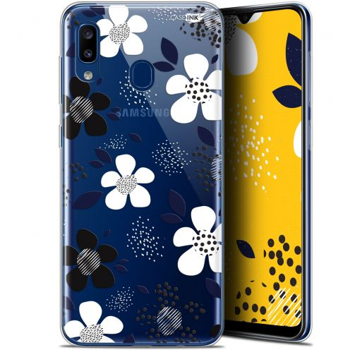 "Coque Gel Samsung Galaxy A20 (6.4"") Extra Fine Motif - Marimeko Style"
