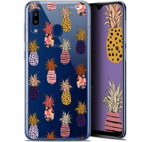 "Coque Gel Samsung Galaxy A20 (6.4"") Extra Fine Motif - Ananas Gold"