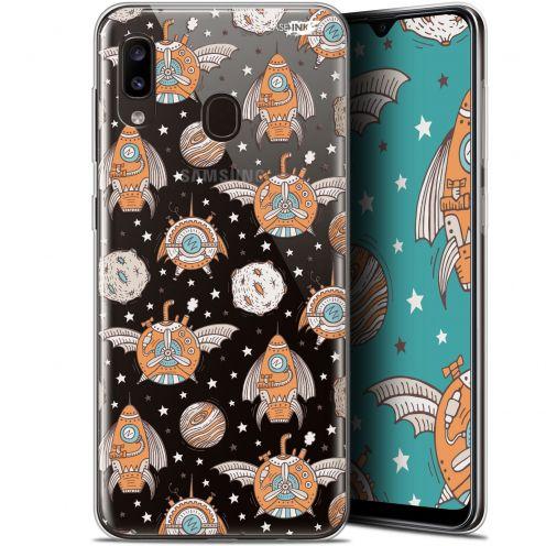 "Coque Gel Samsung Galaxy A20 (6.4"") Extra Fine Motif - Punk Space"