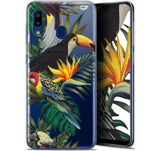 "Coque Gel Samsung Galaxy A20 (6.4"") Extra Fine Motif - Toucan Tropical"