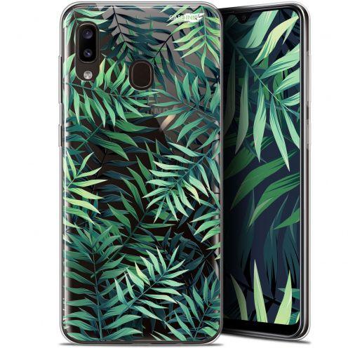 """Coque Gel Samsung Galaxy A20 (6.4"""") Extra Fine Motif - Feuilles des Tropiques"""