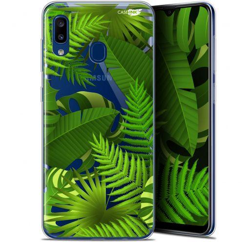 """Coque Gel Samsung Galaxy A20 (6.4"""") Extra Fine Motif - Plantes des Tropiques"""