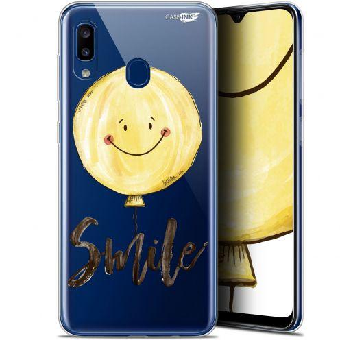 "Coque Gel Samsung Galaxy A20 (6.4"") Extra Fine Motif - Smile Baloon"