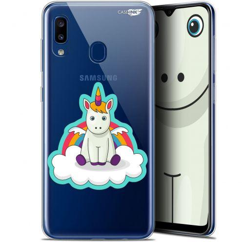 """Coque Gel Samsung Galaxy A20 (6.4"""") Extra Fine Motif - Bébé Licorne"""