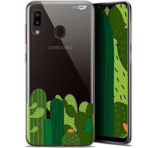 """Coque Gel Samsung Galaxy A20 (6.4"""") Extra Fine Motif - Cactus"""
