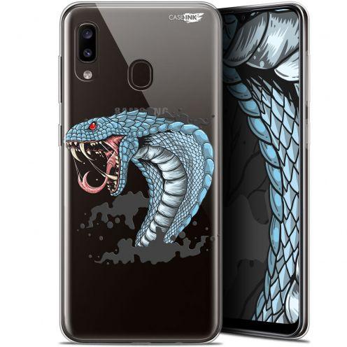 """Coque Gel Samsung Galaxy A20 (6.4"""") Extra Fine Motif - Cobra Draw"""