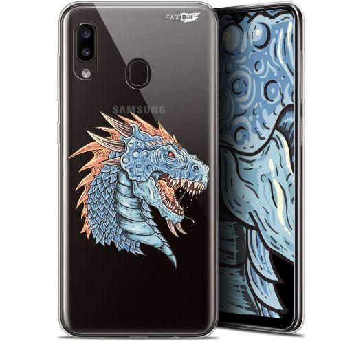 """Coque Gel Samsung Galaxy A20 (6.4"""") Extra Fine Motif - Dragon Draw"""