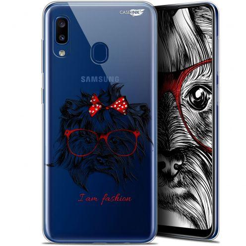 """Coque Gel Samsung Galaxy A20 (6.4"""") Extra Fine Motif - Fashion Dog"""