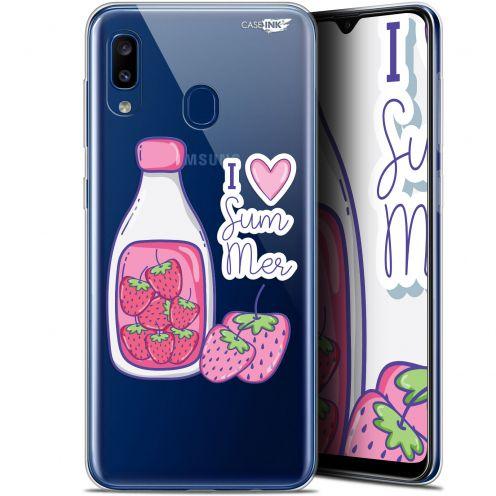 "Coque Gel Samsung Galaxy A20 (6.4"") Extra Fine Motif - Milky Summer"
