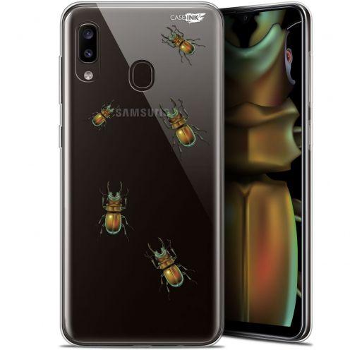 "Coque Gel Samsung Galaxy A20 (6.4"") Extra Fine Motif - Petits Scarabés"