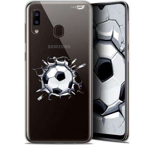 """Coque Gel Samsung Galaxy A20 (6.4"""") Extra Fine Motif - Le Balon de Foot"""